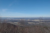 The view from Colerain Road, looking back towards Tyrone.  This vista is very close to the Mid State Trail.