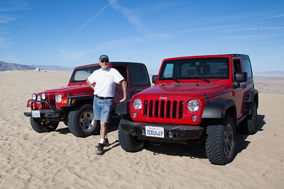 Dino and Keith Superstition Jeeping