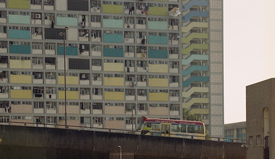 social housing, government estate, Hong Kong