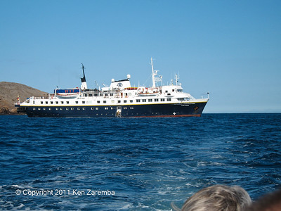 Our home in the Galapagos Islands, the National Geographic Polaris