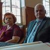 Huldiging gouden bruiloft op stadhuis - 5 juli 2014 - Menen
