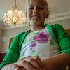 Dochter Amaya tijdens de huldiging gouden bruiloft op stadhuis - 5 juli 2014 - Menen