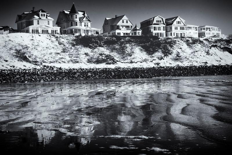 Winter on the Coast of Maine