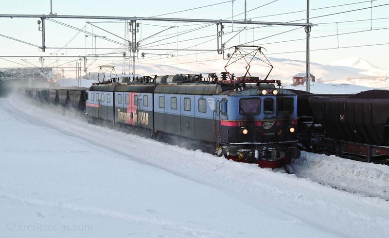 """LKAB Dm3 1215 """"Josefina"""" Uad Bjoernfjell st. 2005-02-14 by TS"""