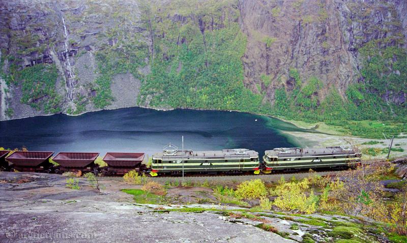 LKAB El15 Horisontalen Rombaksbotn 1999-09-11 by TS