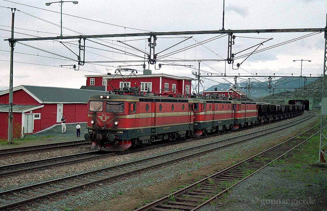SJ Rm Uad Bjoernfjell st 1995-07-03 by Gunnar Gjerde