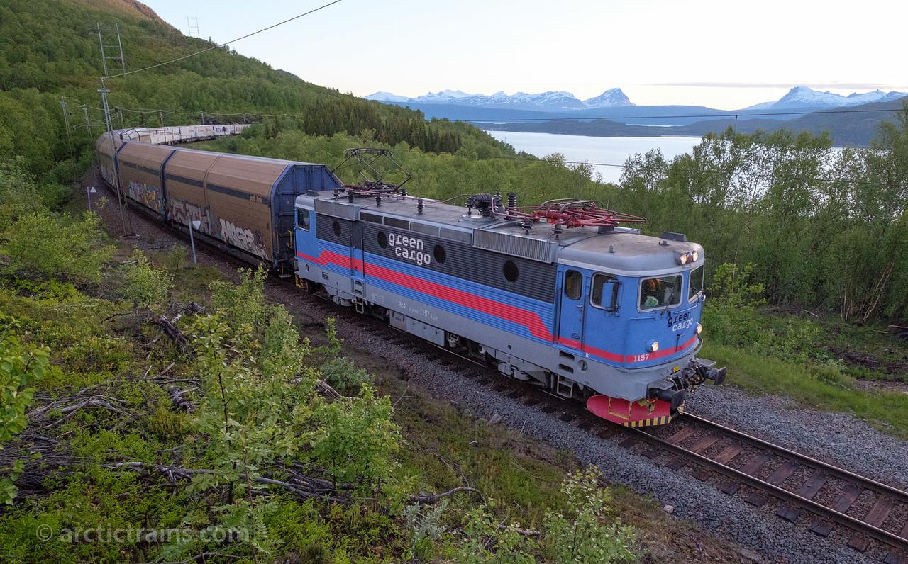 Trains At Work Ofoten Line Arctictrains