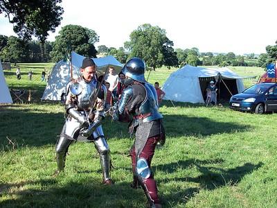 Belsay Castle - the Tournament