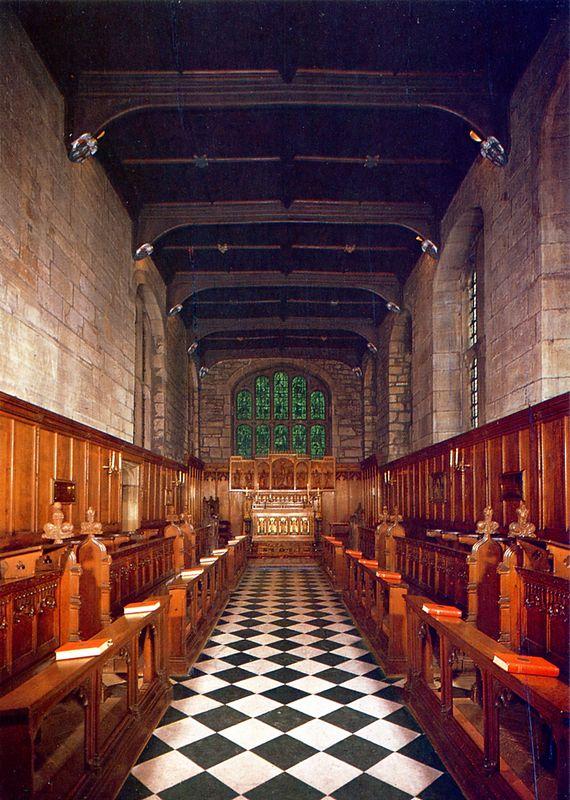 Durham Castle- 17 c Chapel006