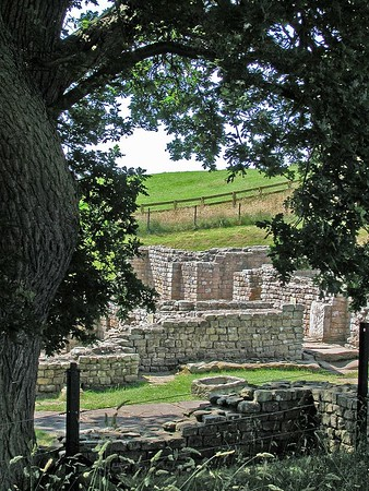 Hadrian's Wall - Chesters Roman Fort