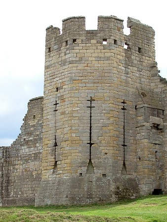 Warkworth Castle - photos by Nathan Shafer. The last day in Northumberland.