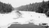 Snow Fall at Smoke Lake