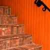 Orange Stairway