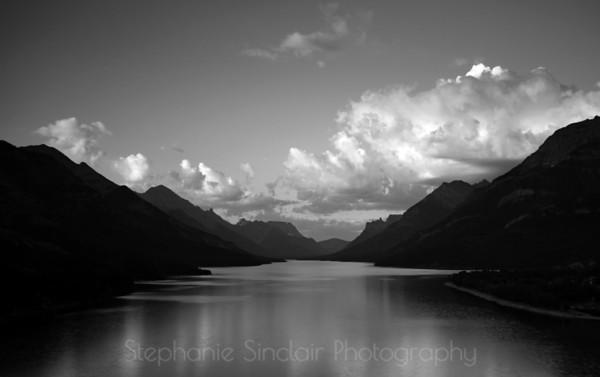 Waterton in Black & White