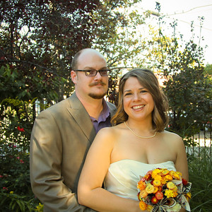 Brent and Sarah's Comic Book Wedding