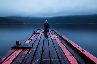 Reflecting at Mara Lake