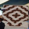 06 Quilt top brown  $85