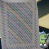 22  Bow Tie crib quilt  $100