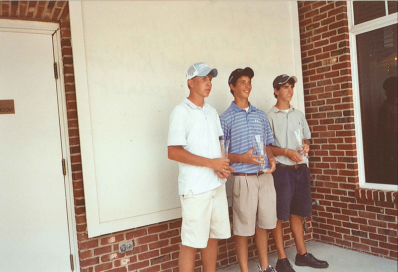 2007 Ohio Junior World Champions, Boys ages 15-17.      (L) 1st Runner-up Sean Keating, (C) Ohio Champion,    Michael Kinkopf, (R) 2nd Runner-up, Michael Oberschmidt.