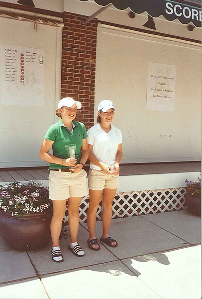2007 Ohio Junior World Champions, Girls Ages   15-17.  (L) 2nd Runner-up, Kathleen Glavin, (R) 1st Runner-up, Caroline Powers.