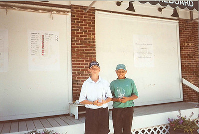 2007 Ohio Junior World Champions, Boys ages 11-12.  (L) Champion, Alec Tahy, (R) 2nd Runner-up, Chase Johnson.