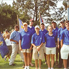 Ohio participants at the 2007 Callaway Golf Junior World Championship opening ceremonies in San Diego at Torrey Pines Golf Course