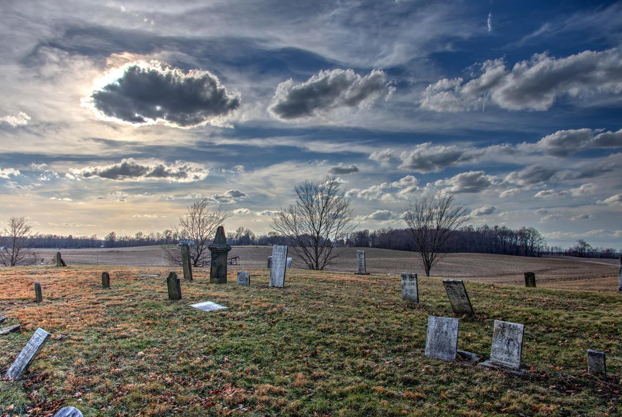 Cemetery near Hartville, Ohio