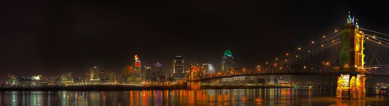 Cincinnati, Ohio Skyline