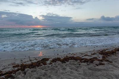 Sunrise At Miami Beach