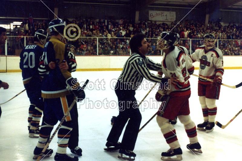 Saturday, February 19, 1983 - Notre Dame Fighting Irish at Ohio State Buckeyes