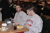 Thursday, January 3, 2002 - Time out to eat at the Old Country Buffet during travel day to Western Michigan University located in Kalamazoo, Michigan
