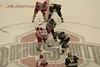 Saturday, February 24, 2007 - NCAA Ice Hockey - University of Michigan Wolverines at The Ohio State University Buckeyes, the Schottenstein Center in Columbus, Ohio - Senior Night
