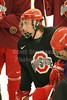 March 11, 2010 - The Buckeyes practice at the old Ice Rink in preparation for the playoffs at Goggin Arena in Oxford versus Miami.