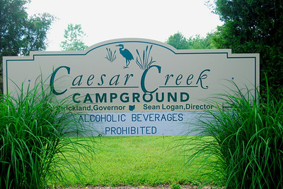 Ceasar Springs in the summer