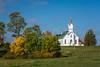 A small country church near Berlin, Ohio, USA.