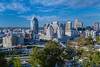 The city skyline of Cincinnati, Ohio, USA.
