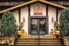 The Berean Community Church in Winesburg, Ohio, USA.