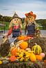 Fall display in Sugar Creek, Ohio, USA.