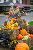 Fall display in Sugar Creek, Ohio, USA.