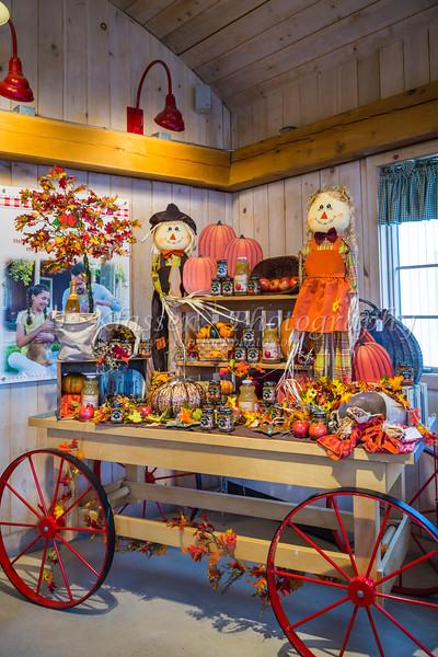 The Smucker's Store interior in Orville, Ohio, USA.