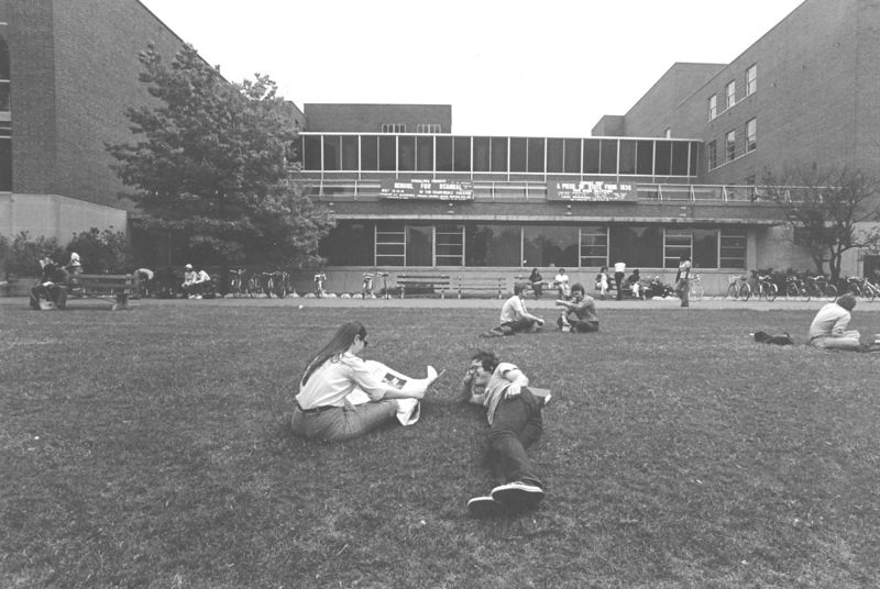 Ohio Union Exterior 1977