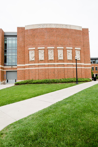 Ohio Union Exterior and Interior
