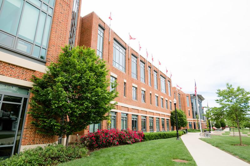 Ohio Union Exterior and Interior