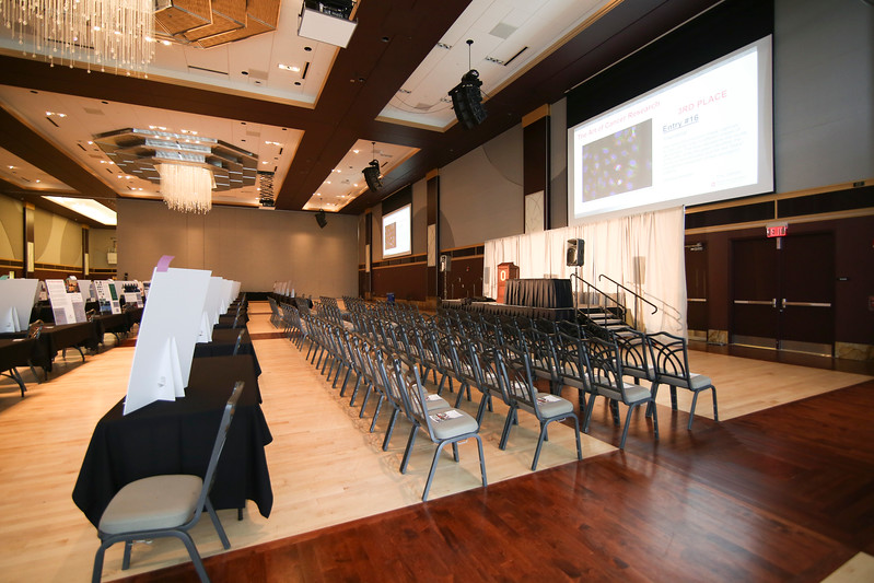 Ohio Union East and West Ballroom Setup
