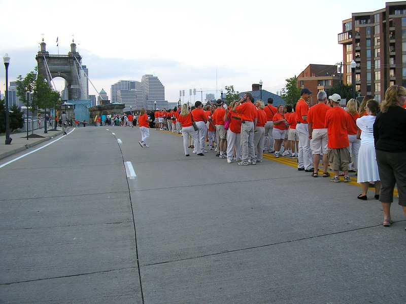 March Across the Ohio River