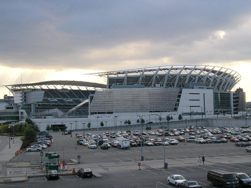 Ohio Stadium in Cincinnati