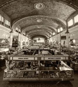 Westside Market - Cleveland, Ohio (hand toned)