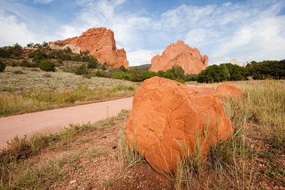 Hiking Trail - Garden of the Gods - Colorado Springs, CO (This is one of many trails in the park.)