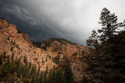 Seven Falls Colorado - Storm Approaching