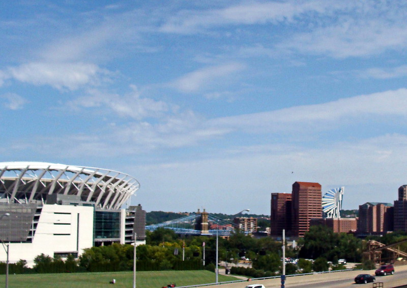 View of Cincinnati, Ohio